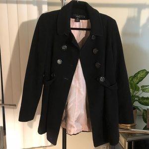 Luxe Arden B Black Coat